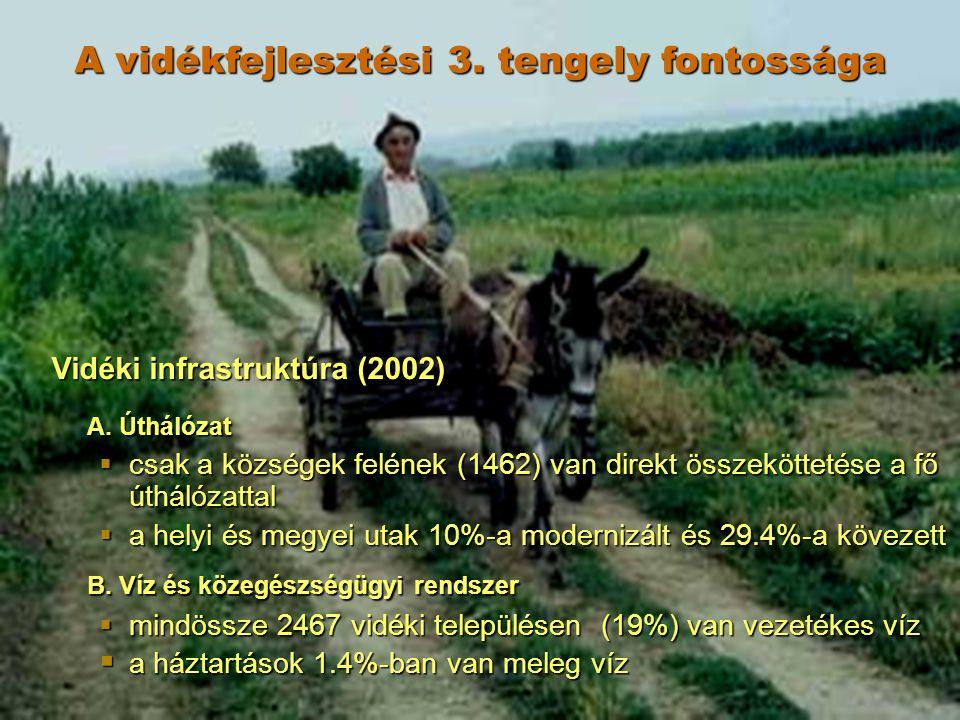 Vidéki infrastruktúra (2002) A.