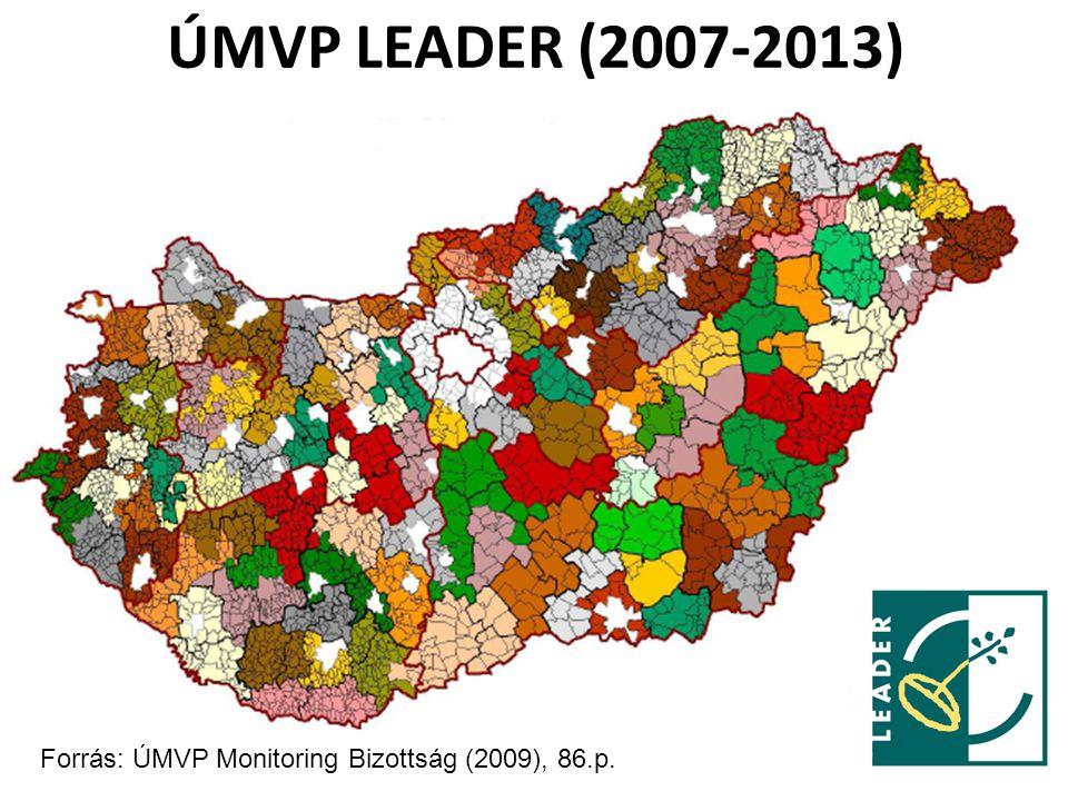 ÚMVP LEADER (2007-2013) 10 Forrás: ÚMVP Monitoring Bizottság (2009), 86.p.