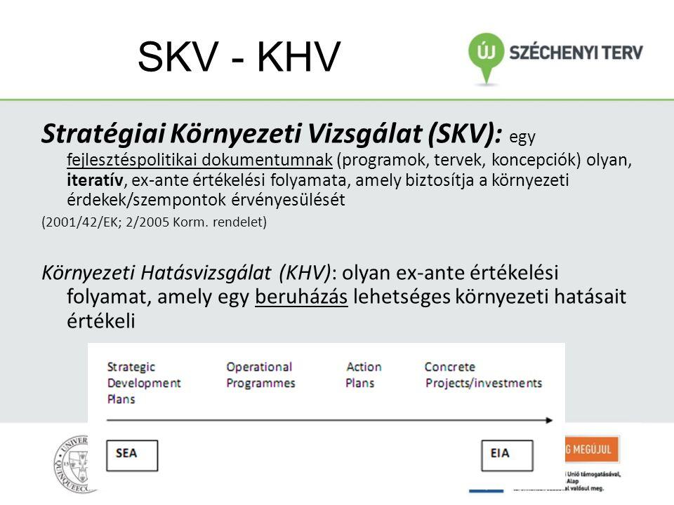 II. Környezeti politika (integrációja); Magyar sajátosságok