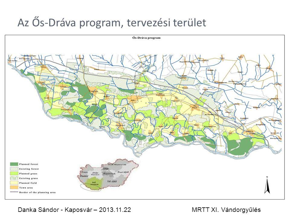 Az Ős-Dráva program, tervezési terület Danka Sándor - Kaposvár – 2013.11.22MRTT XI. Vándorgyűlés