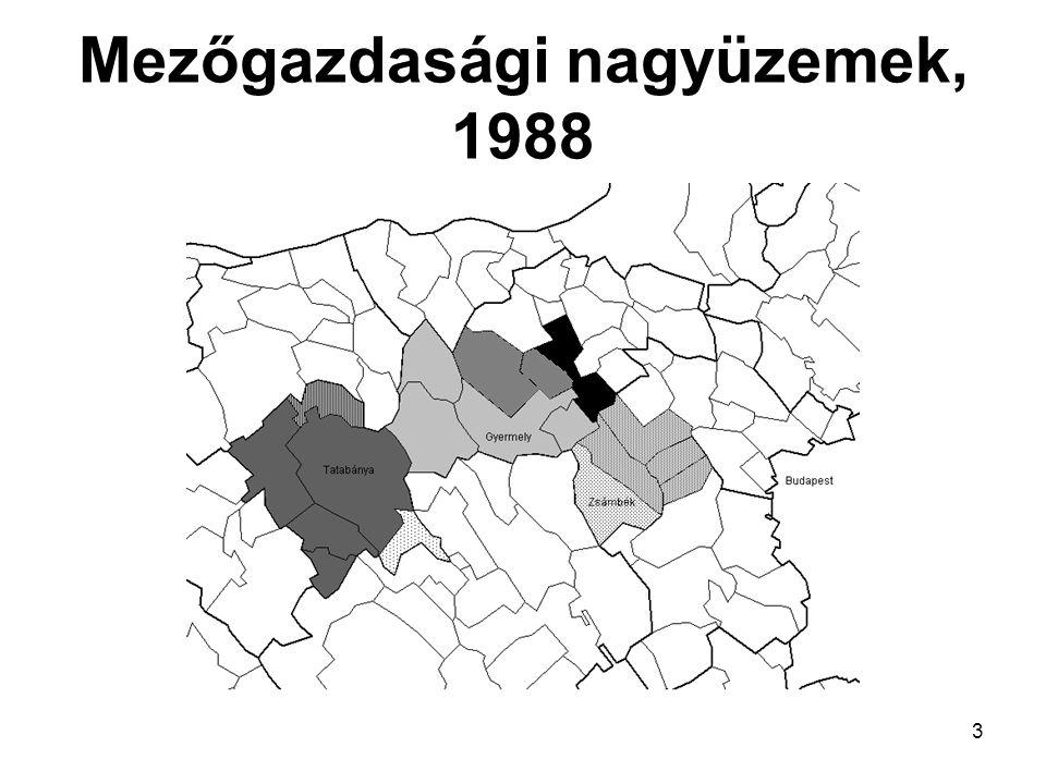 3 Mezőgazdasági nagyüzemek, 1988
