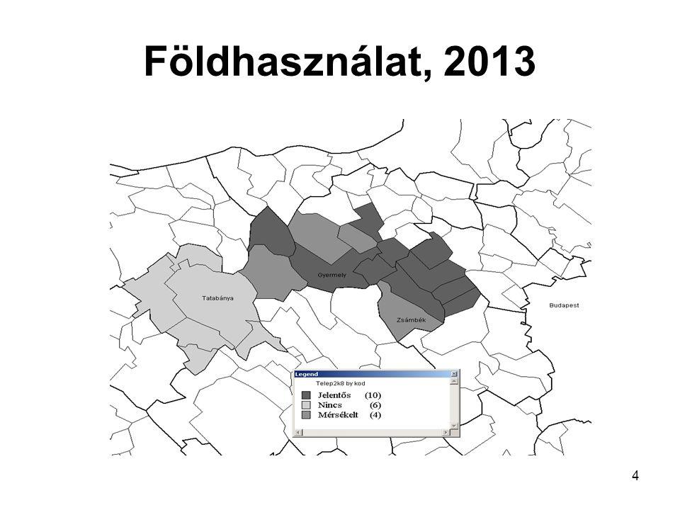 4 Földhasználat, 2013