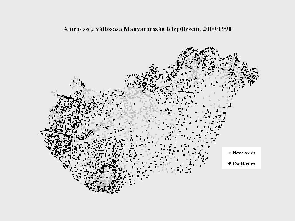 Az 1990-es rendszerváltás után néhányan arra számítottak, hogy a települések közötti egyenlőtlenségek - a várt gazdasági fejlődés következtében - mérséklődnek.