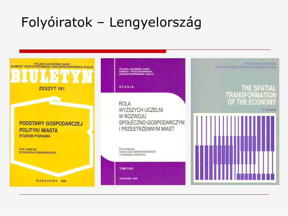 Folyóiratok – Lengyelország