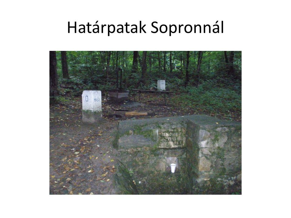 Határpatak Sopronnál