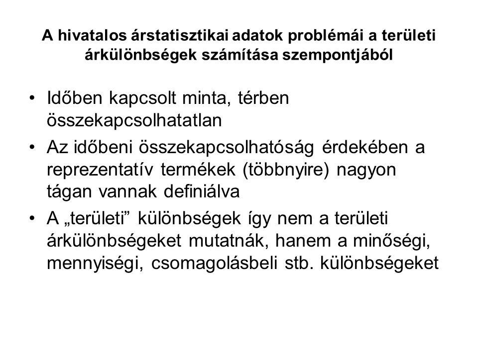 Városi-falusi és helyzeti árkülönbségek 1.