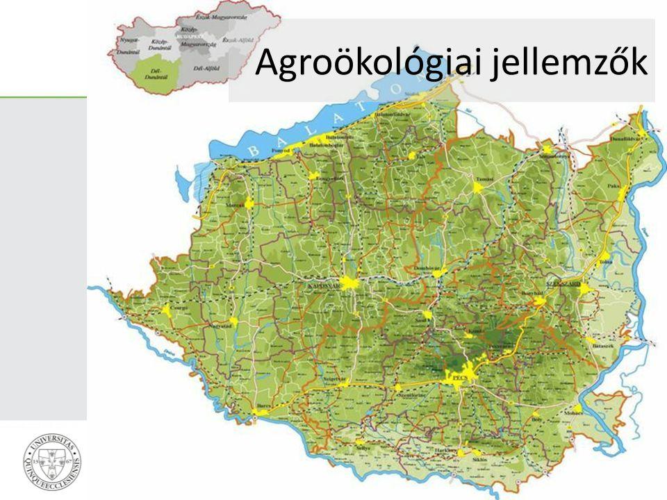 Agroökológiai jellemzők