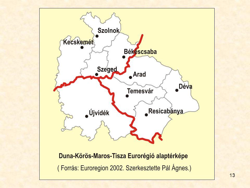 14 A Duna-Körös-Maros-Tisza Regionális Együttműködés 2009 Forrás: www.euroimobile.rowww.euroimobile.ro