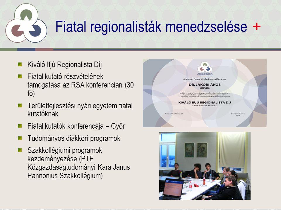 Nemzetközi tevékenység + Nemzetközi konferenciák – RSA 2010.