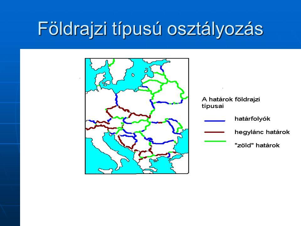 Földrajzi típusú osztályozás