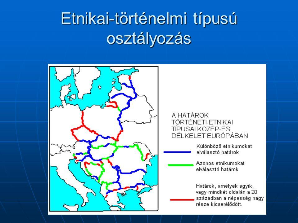 Etnikai-történelmi típusú osztályozás