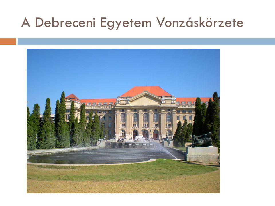 A Debreceni Egyetem Vonzáskörzete