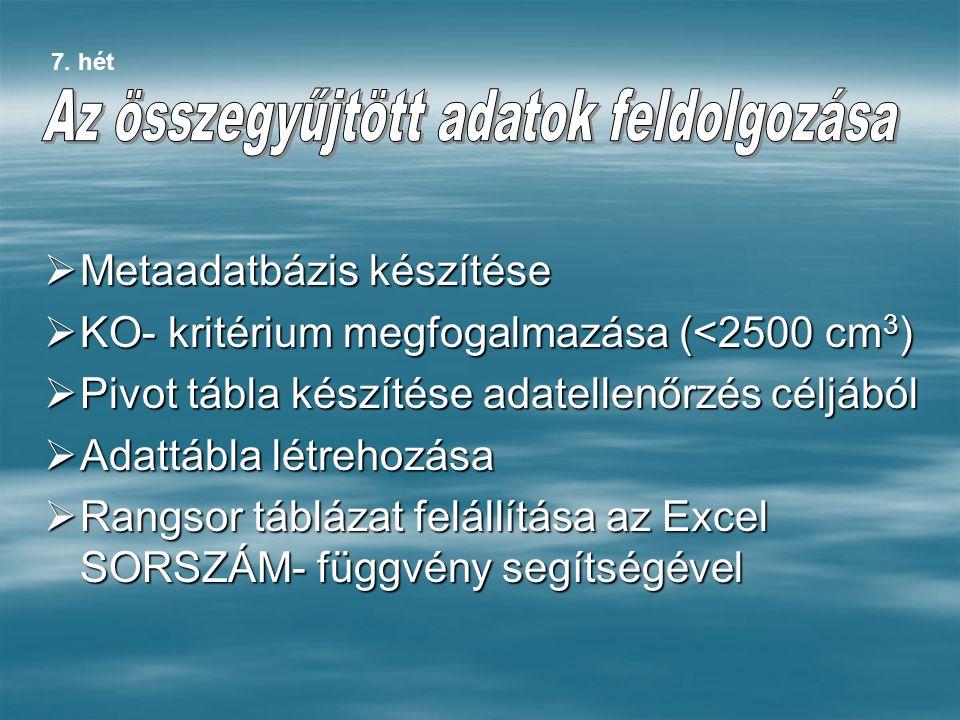 Objektumok: CitroenCitroen FiatFiat FordFord OpelOpel PeugeotPeugeot VolkswagenVolkswagen  Attribútumok: Motor Hengerűrtartalom Max.
