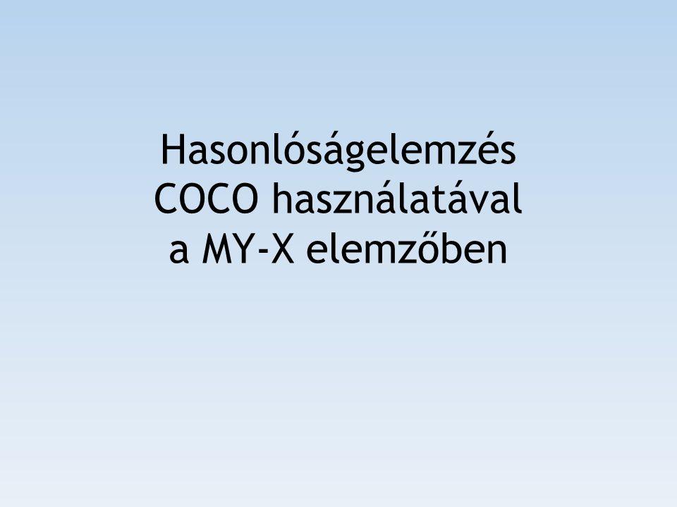 Az elemzés alapelvei A COCO elemzés (component-based object comparison for objectivity – kb.