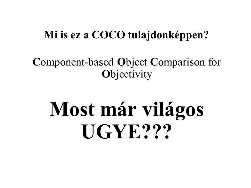 Mi is ez a COCO tulajdonképpen.