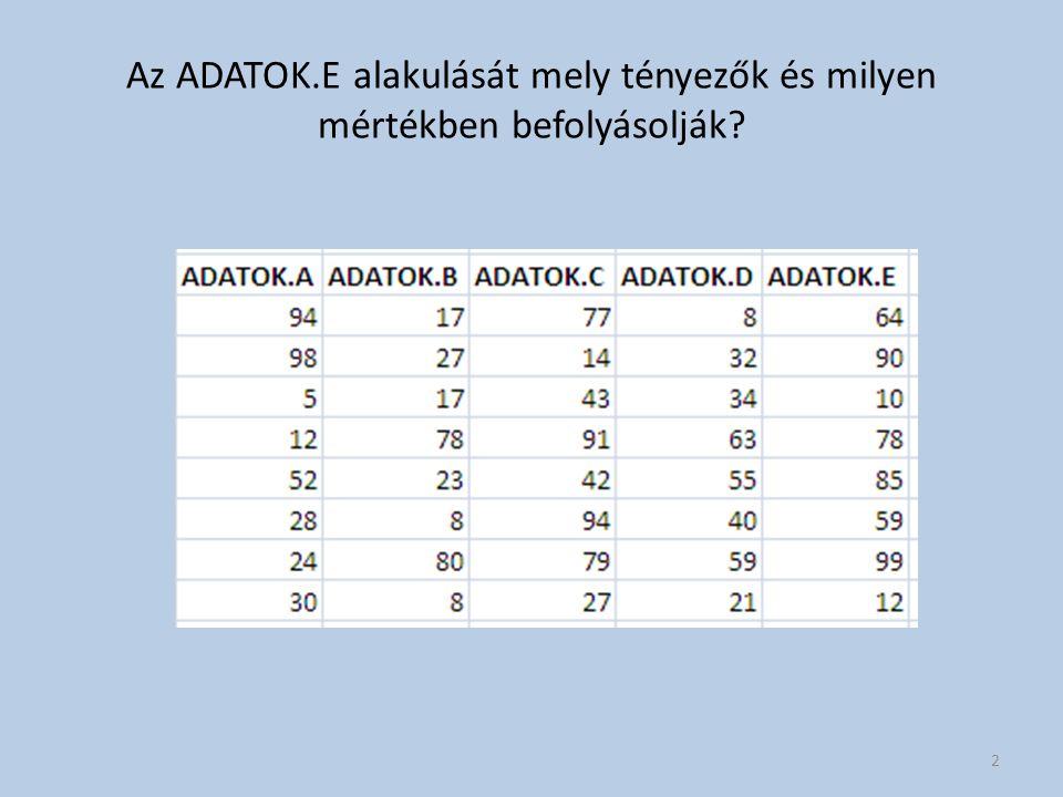 Tőzsdei adatbányászati példa 33