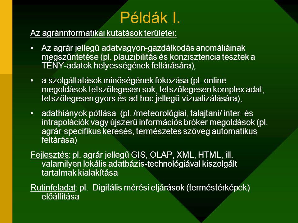 Példák I.