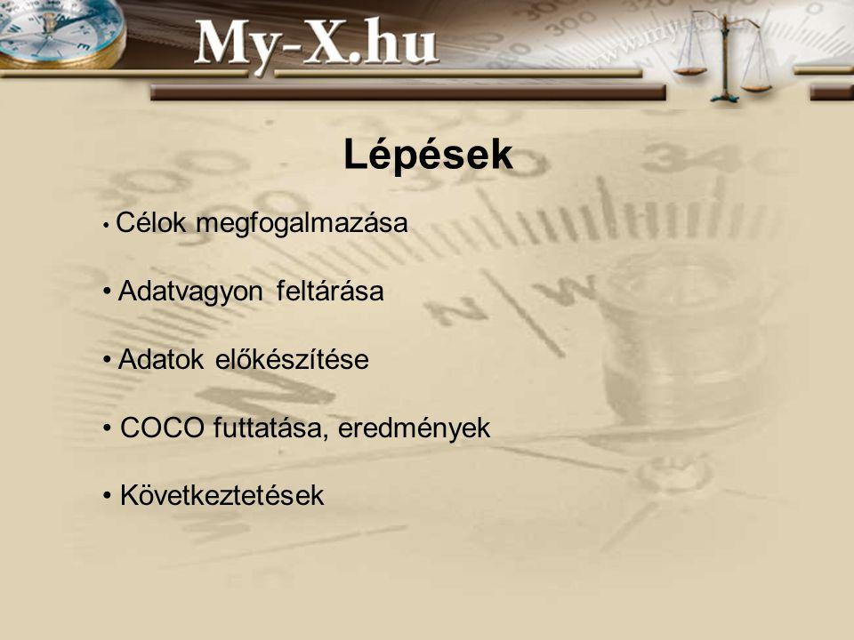 INNOCSEKK 156/2006 Célok megfogalmazása –Objektívebb, racionálisabb képalkotás létrehozása.
