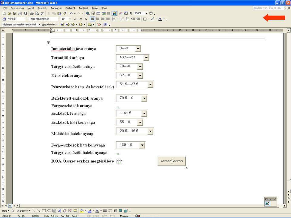 2007.06.11 Fazekas Boglárka 14 Vállalati változtatás és válságmenedzsment és alkalmazott pénzügyi módszerek
