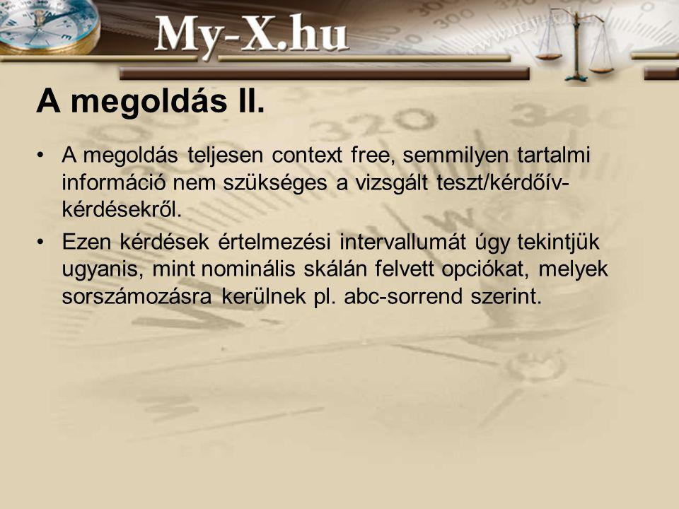 INNOCSEKK 156/2006 A megoldás II.