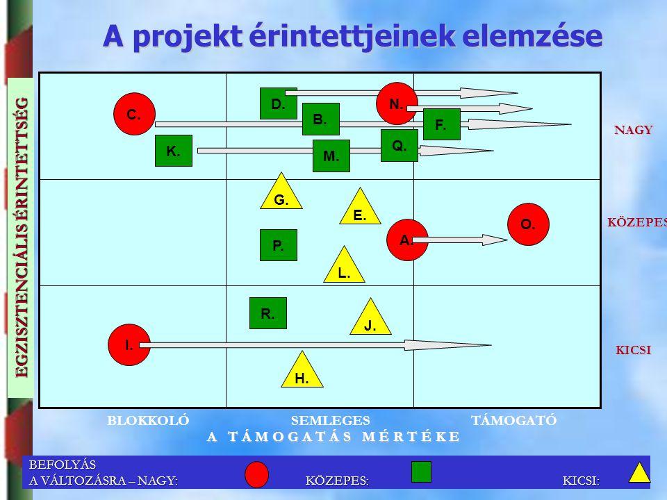 Dr. Puskás JánosSZIE, GTK, ARGI jpuskas@gtk-f1.gau.hu; +36 20 9 508 426 29 A projekt érintettjeinek elemzése C. EGZISZTENCIÁLIS ÉRINTETTSÉG NAGY KÖZEP