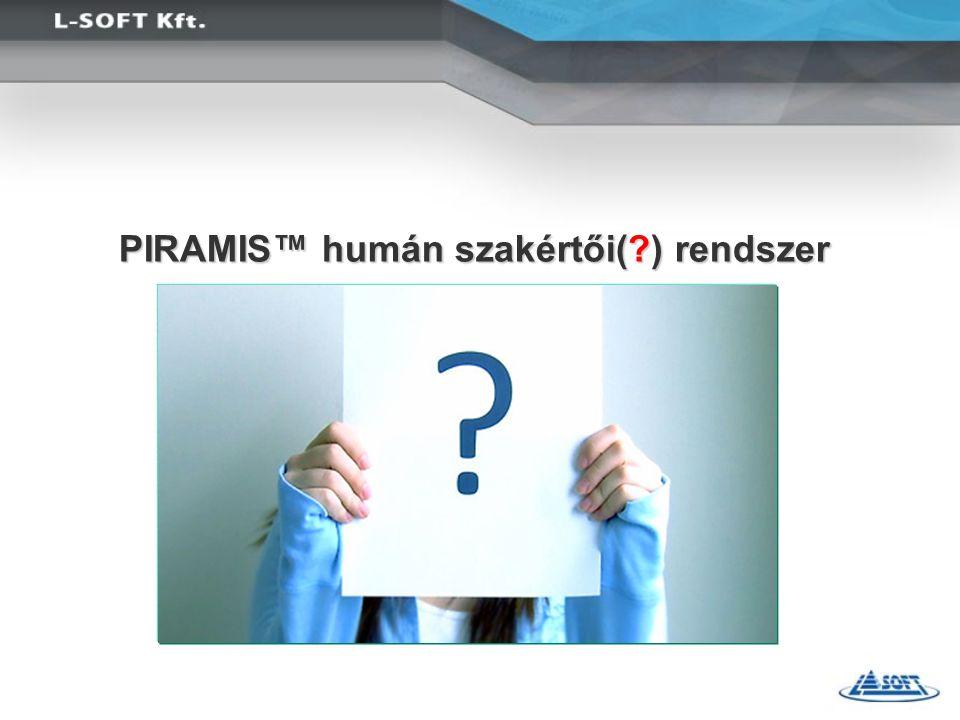 PIRAMIS™ humán szakértői(?) rendszer