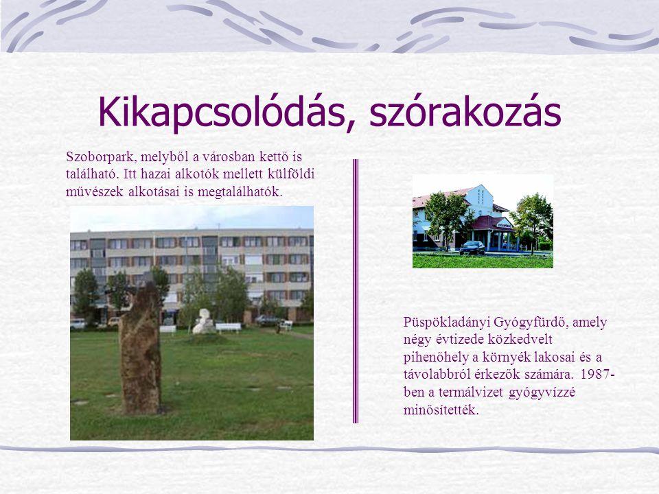 Kikapcsolódás, szórakozás Püspökladányi Gyógyfürdő, amely négy évtizede közkedvelt pihenőhely a környék lakosai és a távolabbról érkezők számára. 1987