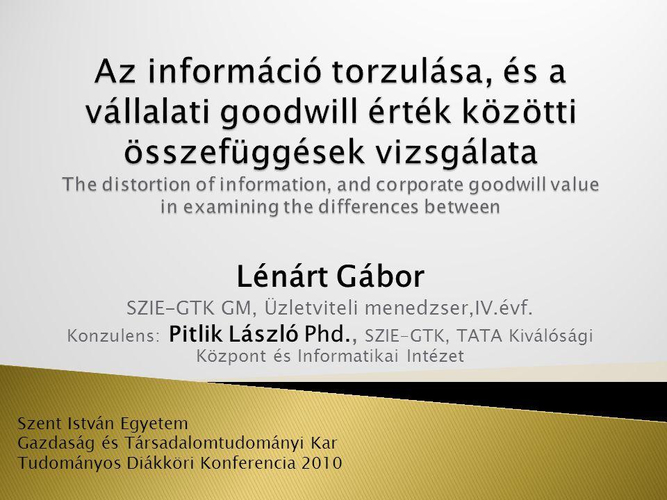 Motiváció  - Egy két évvel ezelőtti kutatás folytatása, a gazdaságon belüli csúsztatások módszertani megoldásának kialakítása.