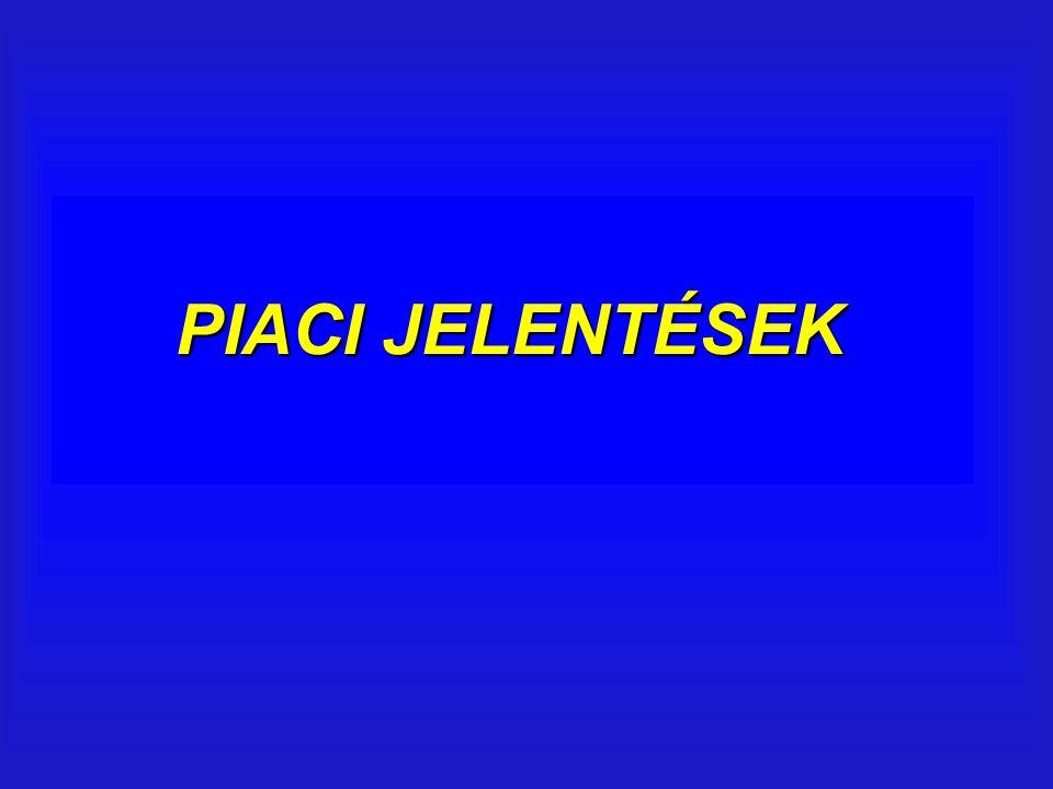 PIACI JELENTÉSEK