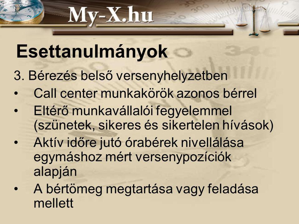 INNOCSEKK 156/2006 Esettanulmányok 3.