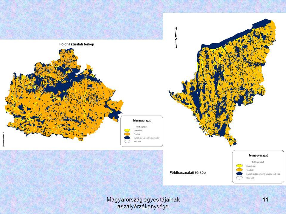Magyarország egyes tájainak aszályérzékenysége 11