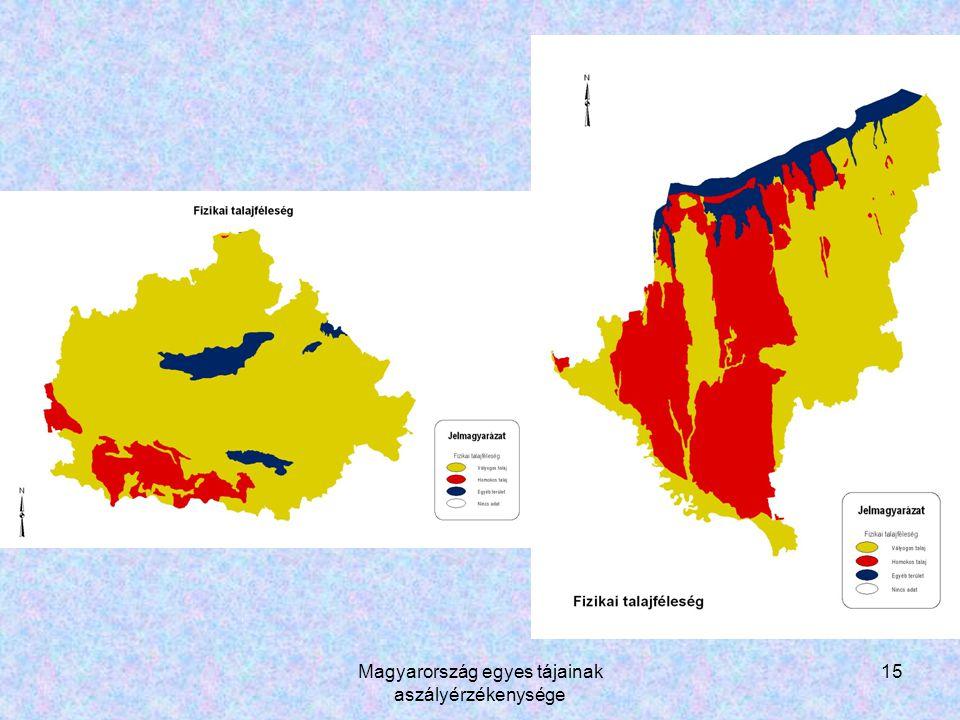 Magyarország egyes tájainak aszályérzékenysége 15