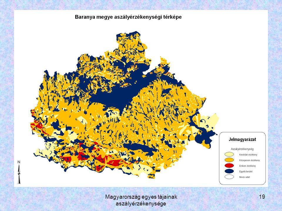 Magyarország egyes tájainak aszályérzékenysége 19