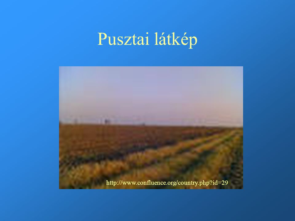 Pusztai látkép http://www.confluence.org/country.php?id=29