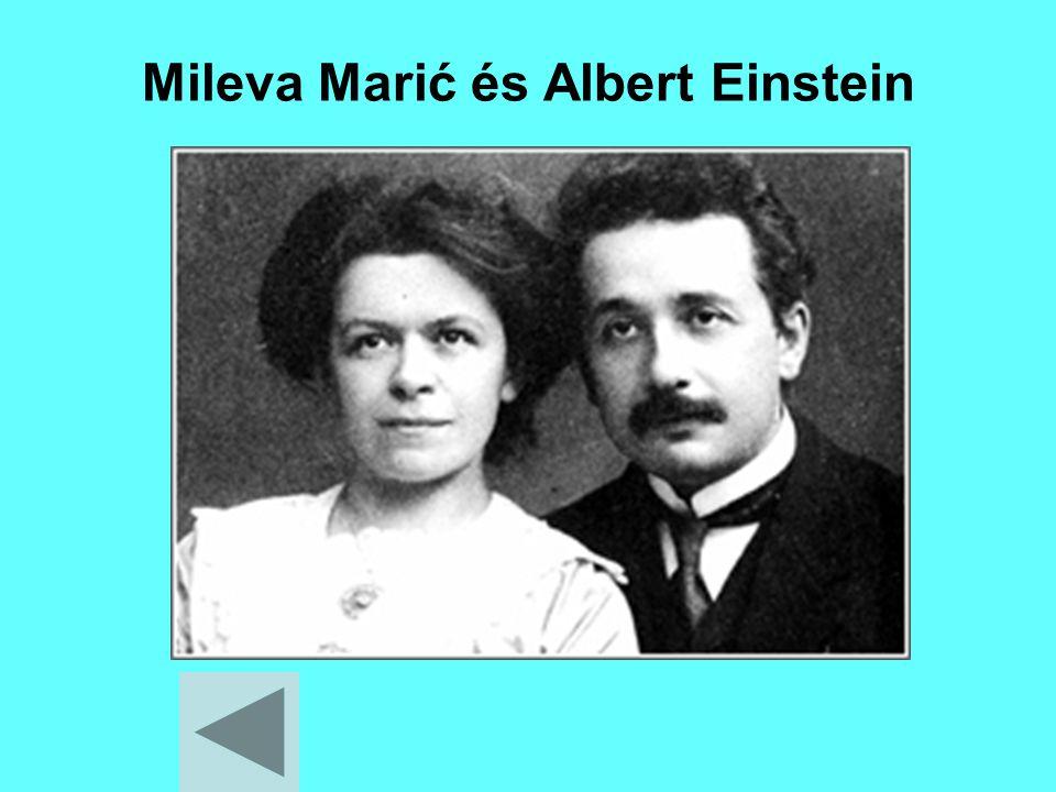 Mileva Marić és Albert Einstein
