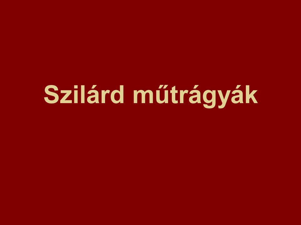 MIKROELEM TRÁGYÁK c.