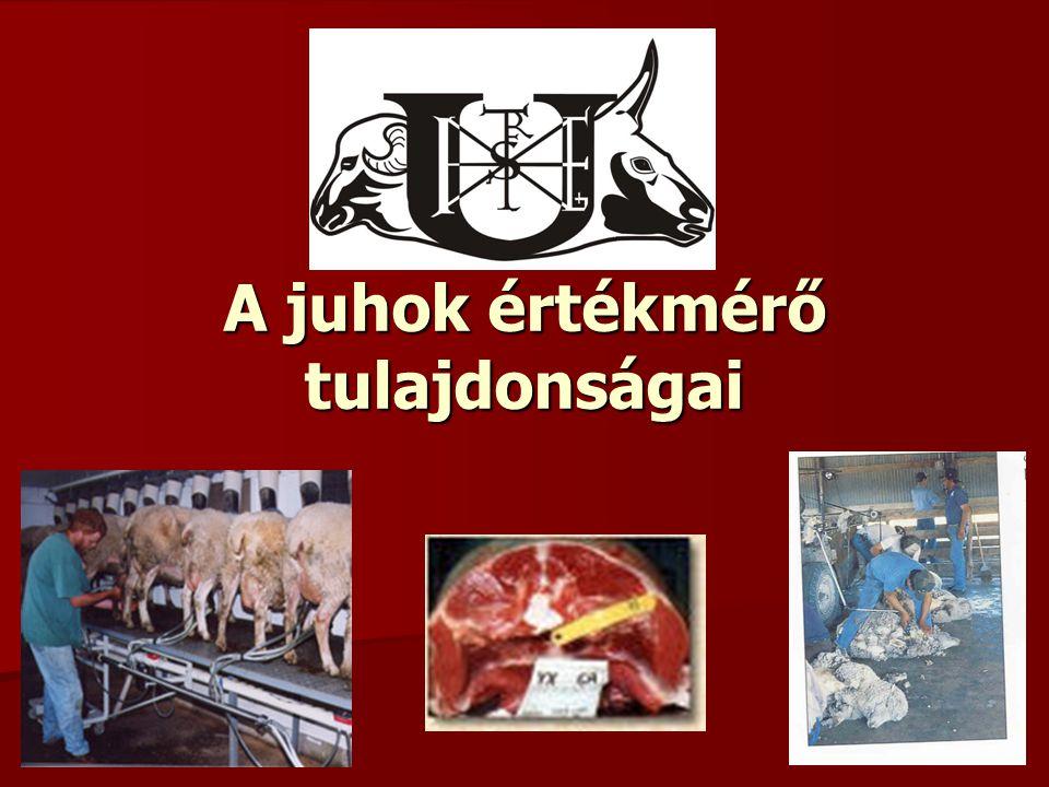 A tenyészcél meghatározása: Gazdasági tenyészcél: Gazdasági tenyészcél: az állati termék gazdaságos előállítása.