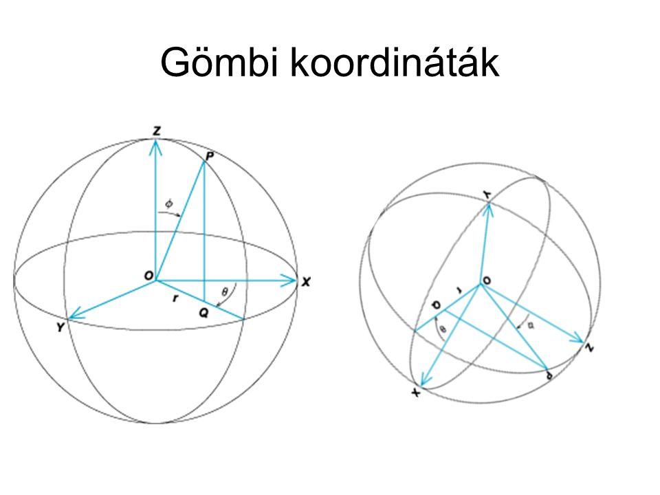 Gömbi koordináták