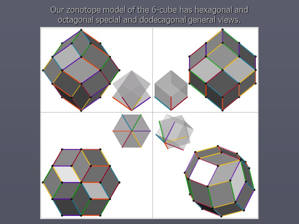 The next 3D models of 3D cubes can be constructed from the 6 edges given by our way.