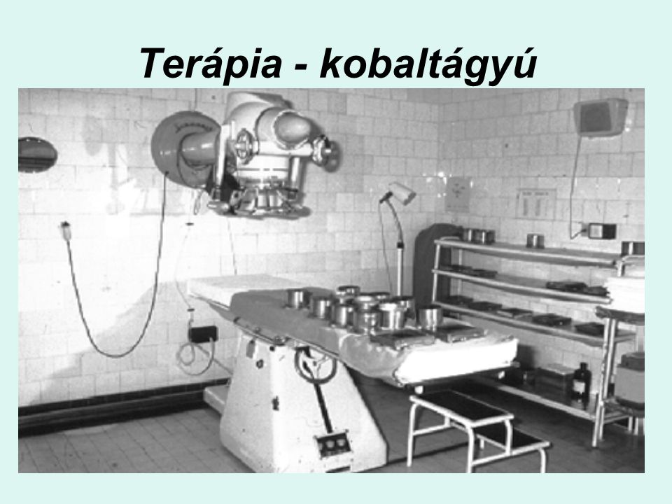 Terápia - kobaltágyú