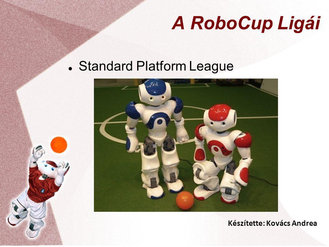 Készítette: Kovács Andrea A RoboCup Ligái Standard Platform League
