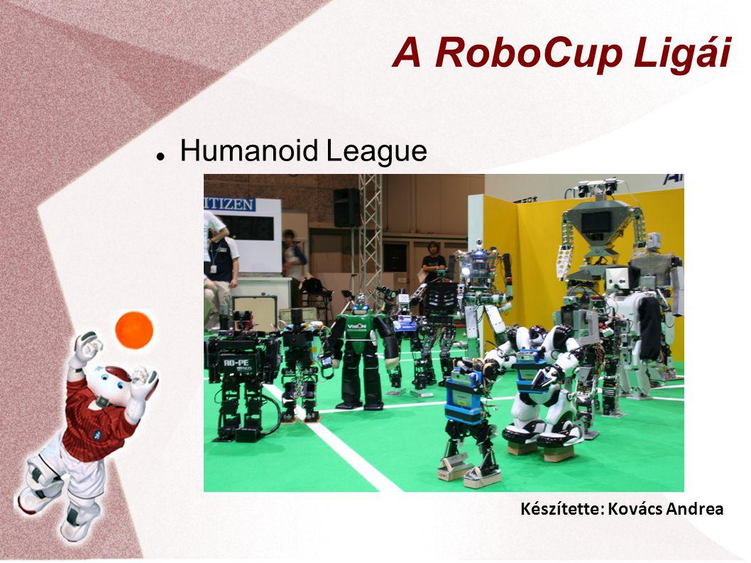 Készítette: Kovács Andrea A RoboCup Ligái Humanoid League