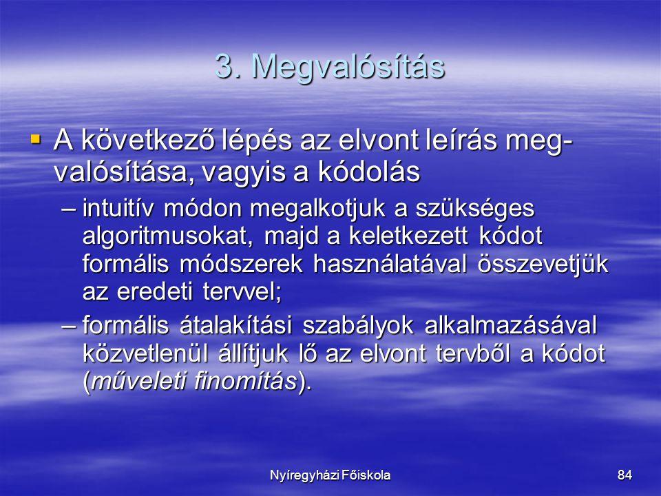Nyíregyházi Főiskola84 3.