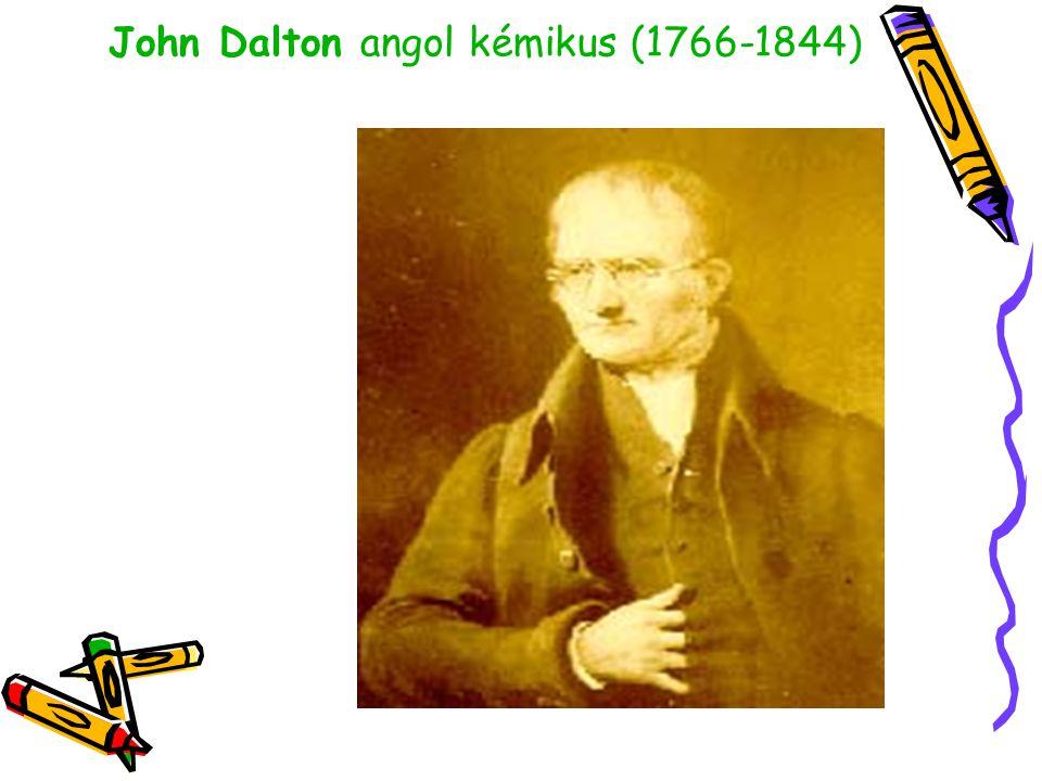 A modern atomelmélet Dalton érdeme az, hogy a kísérleti eredményeket az atomok létezésével magyarázta és bizonyította.