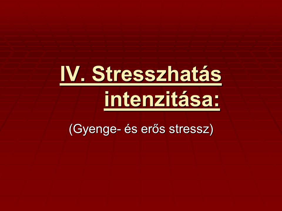 1.Gyenge stressz: -aktiválhatja a sejanyagcserét -aktiválhatja a sejanyagcserét -fokozhatja a növény fiziológiai aktivitását -fokozhatja a növény fiziológiai aktivitását -nem okoz semmiféle károsodást még hosszabb időtartamon át haladva sem -nem okoz semmiféle károsodást még hosszabb időtartamon át haladva sem -ilyen hatása van számos növekedésgátlónak és anyagcsereinhibitornak, melyek kis koncentrációban serkentő hatásúak, -ilyen hatása van számos növekedésgátlónak és anyagcsereinhibitornak, melyek kis koncentrációban serkentő hatásúak, 2.