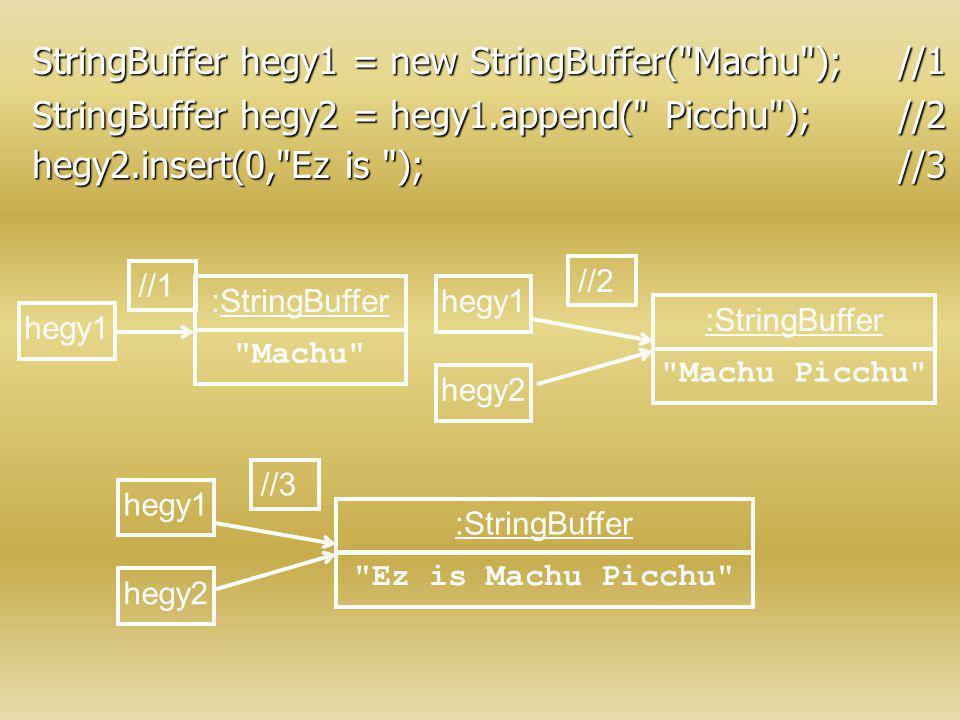 StringBuffer hegy1 = new StringBuffer(