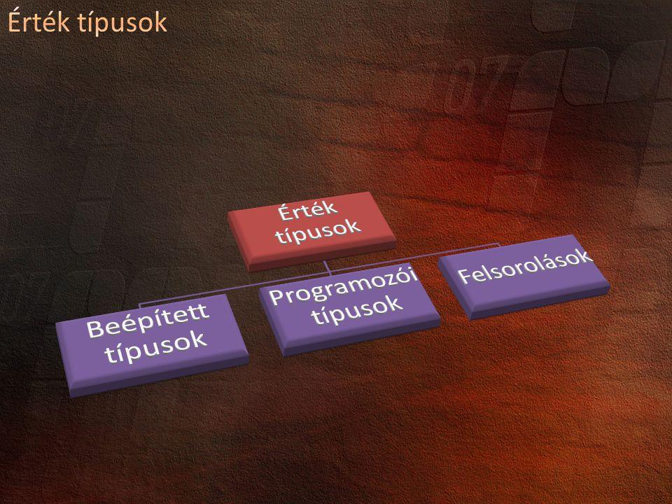Egyszerűsíti a tulajdonságok létrehozását prop Code Snippet: prop tab tab Kell a get és a set rész is.
