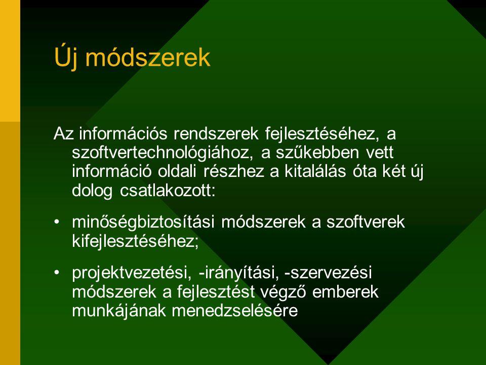 Alrendszerek, modulok Az alrendszer egy olyan létjogosultságokkal rendelkező része a rendszernek, amelynek működése nem függ az egyéb alrendszerek szolgáltatásaitól.