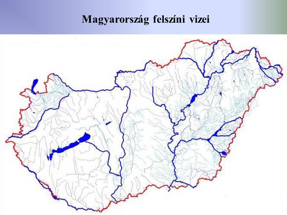 25 Magyarország felszíni vizei