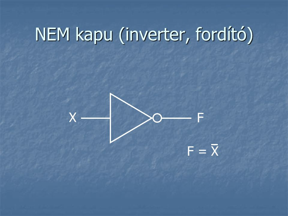 Címdekóder Feladata cím dekódolása Feladata cím dekódolása n bites számot használ bemenetként, és ki tudunk választani vele (be tudjuk állítani 1-re) pontosan egyet a 2 n kimenet közül n bites számot használ bemenetként, és ki tudunk választani vele (be tudjuk állítani 1-re) pontosan egyet a 2 n kimenet közül